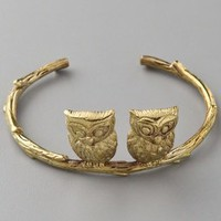 Monserat De Lucca Two Owls Bracelet | SHOPBOP