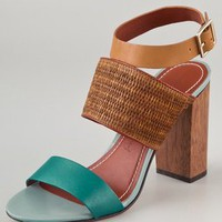Elizabeth and James Clair Colorblock Sandals | SHOPBOP