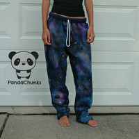 GALAXY PANTS size large by PandaChunks on Etsy