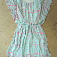 Tiny Brushstrokes Dress [3831] - $36.00 : Vintage Inspired Clothing & Affordable Fall Frocks, deloom | Modern. Vintage. Crafted.