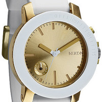 The Raider Watch in White and Gold : Nixon : Karmaloop.com - Global Concrete Culture