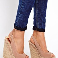 New Look Hazy Studded Espadrilles at asos.com