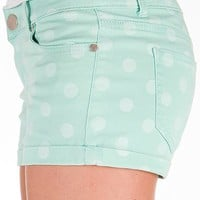 Fire Polka Dot Stretch Short