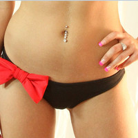 The Red Bow BOTTOM by MimiHammer on Etsy