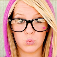 Nerdy Heart Glasses by steppie on Etsy
