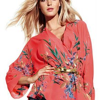Kimono Blouse - with fabulous little belt
