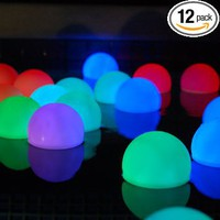 Mood Light Garden Deco Balls (Light up Orbs): Health & Personal Care