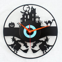 accessoryinlove  Wizard Attack CD Wall Clock