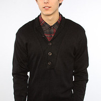 Rothco Sweater GI Button in Black