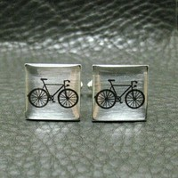 Silver Leaf Bicycle Cyclist Bike Tour De France Custom by Cuftlynx