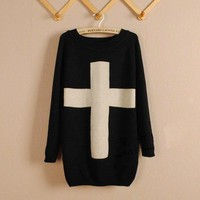 CROSS SWEATER