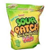 Sour Patch Kids Bag DRS, 3.5-Pounds: Grocery & Gourmet Food