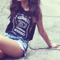 Jack Daniels Deep Cut Tank from ShopWunderlust