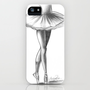 Ballerina - Ashley Rose iPhone Case by AshleyRose