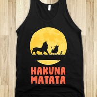 Hakuna Matata - New Nostalgia - Skreened T-shirts, Organic Shirts, Hoodies, Kids Tees, Baby One-Pieces and Tote Bags