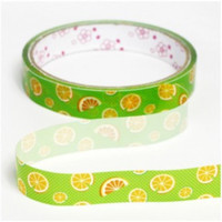 SALE 30% off Orange fruit Deco Tape Adhesive Stickers DT13