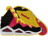 Reebok Womens CL Chi-Kaze (black / o pink / b yellow / white) Shoes J89196 | PickYourShoes.com