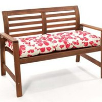 One Kings Lane - Outdoor Pillows - Outdoor Bench Cushion, Hibiscus