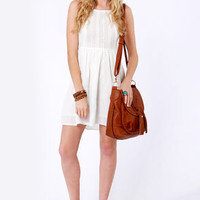 Roxy Perfect Days Ivory Sundress