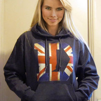 2XL One DIRECTION HOODIE 1D British Chic Pullover Hoodie