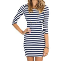 Billabong Dance With Me Dress - Peacoat - JD281DAN				 |  			Billabong 					US