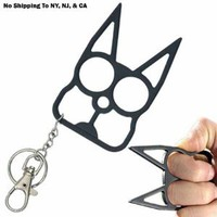 Amazon.com: Cat Self Defense Keychain - Black: Everything Else
