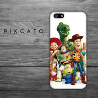 Disney Woody, Buzz Lightyear And Friends  - Disney Toy Story 02 - Iphone Case, Hard Plastic, FREE Shipping Worldwide