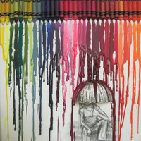 Melted Crayon Art Making the Best out of a Rainy Day by ccasto7
