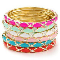 Sequin Enamel Hinge Bangle | Bloomingdale's