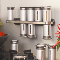 Magnetic Spice Rack - Yanko Design