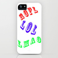 ROFL iPhone Case by Steve Purnell | Society6