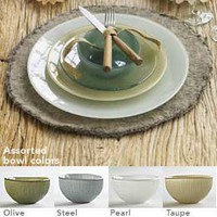 VivaTerra - Serene Sol Recycled Glass Dinnerware