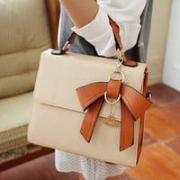 Unique commuter bow handbag [227]
