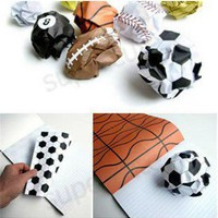 Free shipping 5pcs/lot Playmore notebook Notebook Paper Printed With Sports Balls Funny Ball Life Everyday!-in Notebooks from Office & School Supplies on Aliexpress.com