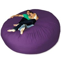 Micro Suede Giant Bean Bag Chair: Home & Kitchen