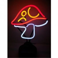 Neonetics Mushroom Neon Sculpture - by Neonetics Neon Signs