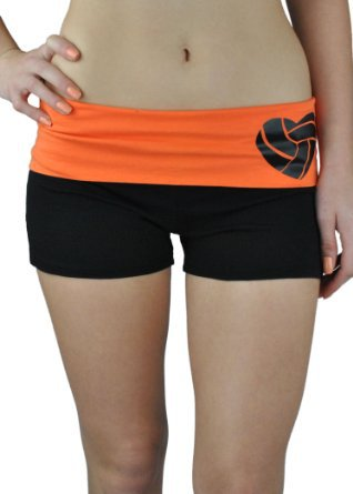 Women's volleyball apparel is designed to stay put throughout the most rigorous practices and games. In the volleyball shorts department, it's all about mobility. These comfortable materials let you move comfortably without bunching or pulling.