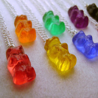 1x Gummy Bear Necklace Pendant