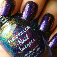 New! KLEANCOLOR ♥ CHUNKY HOLO BLUEBELL ♥ HOLOGRAPHIC GLITTER Nail Polish!
