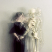 skeleton photograph The Dance 8x8 Print dreamy soft by ellemoss