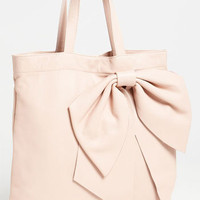 RED Valentino 'Bow' Leather Tote | Nordstrom