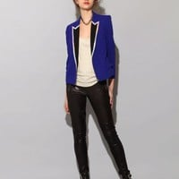 Cobalt mirror blazer SOLD OUT [Pus4834] - $488 : Pixie Market, Fashion-Super-Market