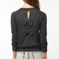 women's bow sweater