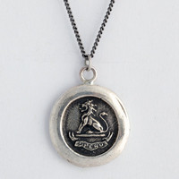 Lion Talisman Necklace