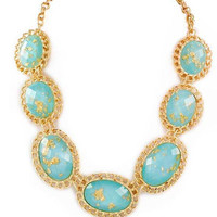 Aqua Marble Necklace – Modeets.com