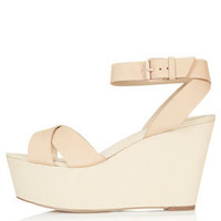 WRECKAGE Cross-Over Flatforms - Shoes - New In This Week  - New In