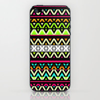 Neon Mix iPhone &amp; iPod Skin by Ornaart