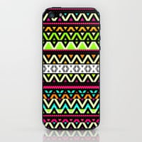 Neon Mix iPhone & iPod Skin by Ornaart