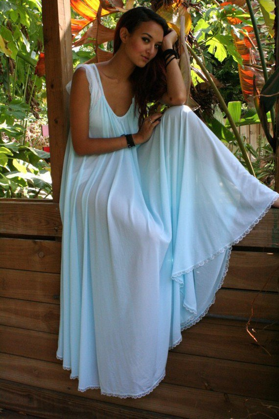 Nylon Nightgowns For 119