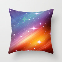 Starry  Throw Pillow by Laura Santeler | Society6